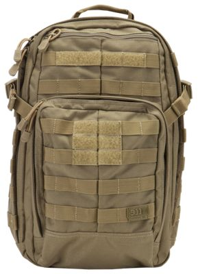5.11 Tactical   RUSH12 Tactical Backpack - Sandstone