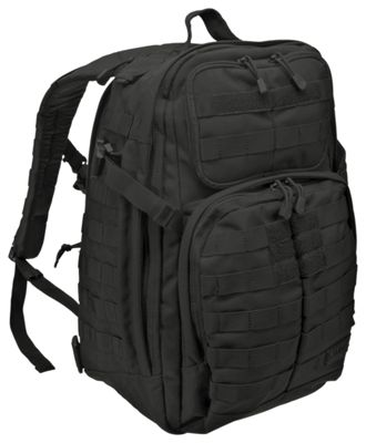 511 Tactical RUSH24 Tactical Backpack Black