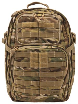 5.11 Tactical RUSH24 Tactical Backpack - MultiCam