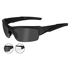Wiley X Valor Changable Series Safety Sunglasses with 2 Lens Sets