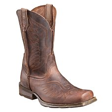 Ariat Rambler Phoenix Western Square Toe Work Boots for Men