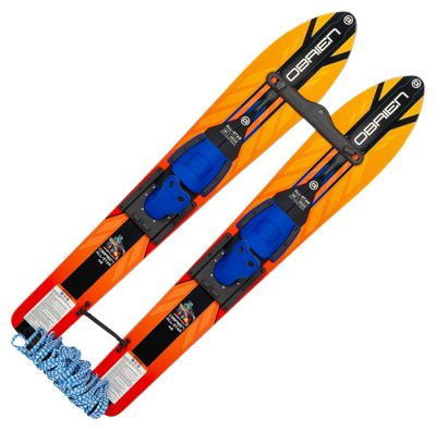 HydroSlide Wide Track Trainer Water Skis by