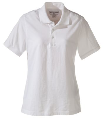 511 Tactical Short Sleeve Polo for Ladies White XL