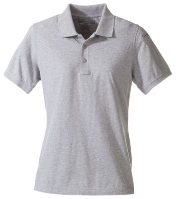 511 Tactical Short Sleeve Polo for Ladies Heather Grey L