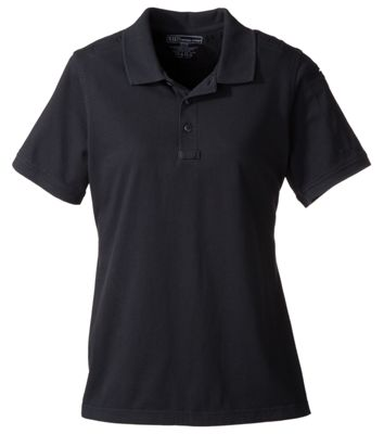 511 Tactical Short Sleeve Polo for Ladies Black S