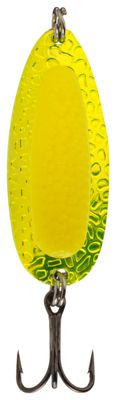 Blue Fox Pixee Spoon – 1/2 oz – Metallic Chartreuse Fluorescent Yellow
