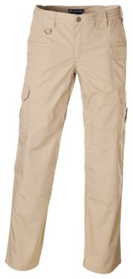 """""""5.11 Tactical Pro Pants foradies feature aightweight and durable poly-cotton TacLite ripstop fabric for reliable durability in the field, on the mission, or on patrol. Pockets areocated for easy access to gear, including an external knife pocke"""""""