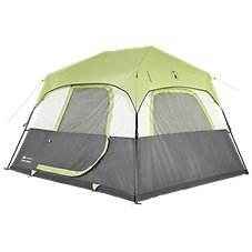 Coleman Signature Outdoor Gear Instant Tent 6-Person Tent with Rainfly