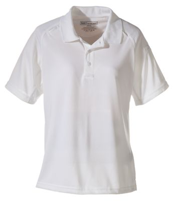 5.11 Tactical Performance Short-Sleeve Polo for Ladies - White - S thumbnail