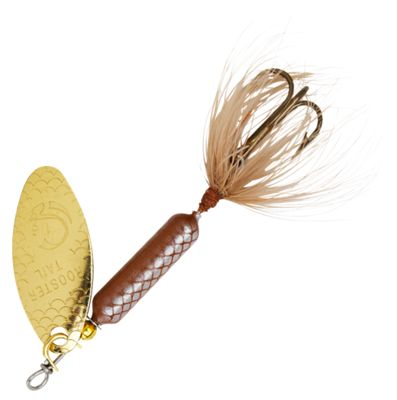 Worden's Original Rooster Tail 1/2 oz. Inline Spinner - Brown thumbnail