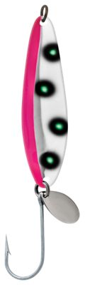 Luhr Jensen Coyote Spoon – Flo Pink/Chartreuse UV – 3-1/2""