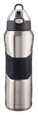 Image of Under Armour Dominate Stainless Steel Vacuum Insulated Hydration Bottle - Stainless Steel - 24 oz