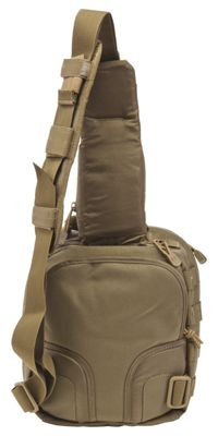 511 Tactical Rush Moab 6 Ambidextrous Tactical Sling Pack Sandstone
