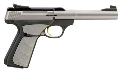 Browning Buck Mark Camper UFX Semi-Auto Rimfire Pistol Stainless Steel