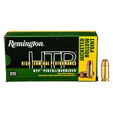 Remington HTP High Terminal Performance Personal Defense Handgun Ammo