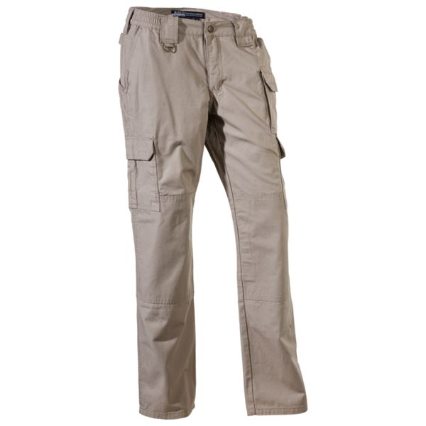 "5.11 Tactical Pants for Ladies - Khaki - 2 - 34-1/4"" thumbnail"
