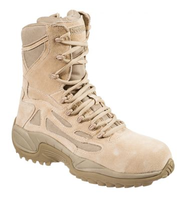 8c0320f4d78 Reebok Rapid Response RB Side Zip Safety Toe Tactical Work Boots for ...