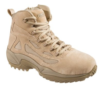 Reebok Rapid Response Rb Side Zip Tactical Work Boots For