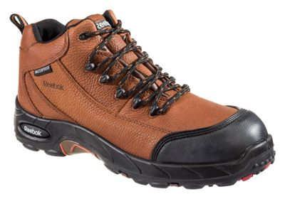 40374a0f7b8 Reebok Tiahawk Safety Toe Work Boots for Men Brown 12 M