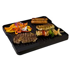 Camp Chef Reversible Cast Iron Grill and Griddle