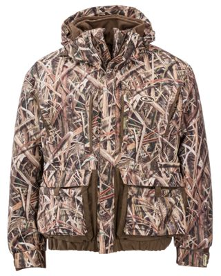 Drake Waterfowl Systems LST Eqwader 3-in-1 Plus 2 Wader Coat 2.0 for Men – Mossy Oak Shadow Grass Blades – 2XL