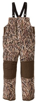 Drake Waterfowl Systems LST 2.0 Insulated Bibs for Men - Mossy Oak Shadow Grass Blades - XL