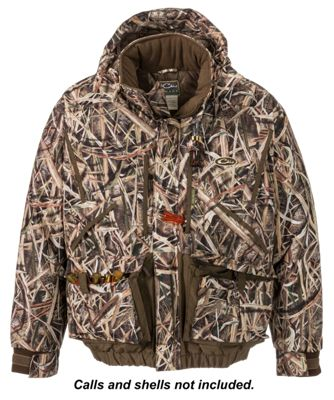 Drake Waterfowl Systems LST Waterfowler's 2.0 Insulated Jacket for Men - Mossy Oak Shadow Grass Blades - S