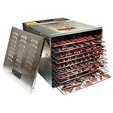 RedHead Stainless Steel 10-Tray Food Dehydrator