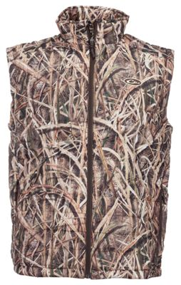 5feb67c2fc3bb Drake Waterfowl Systems MST Synthetic Down Vest for Men Mossy Oak Shadow  Grass Blades 2XL