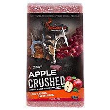 Wildgame Innovations Apple CRUSH Deer Attractant Salt Block