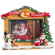 Bass Pro Shops Santa's Wonderland Picture Frame
