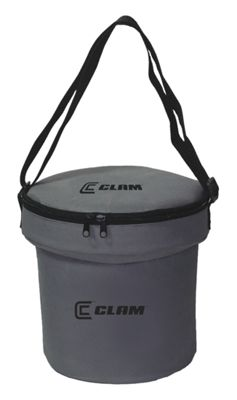 Clam Bait Bucket with Insulated Carry Case by