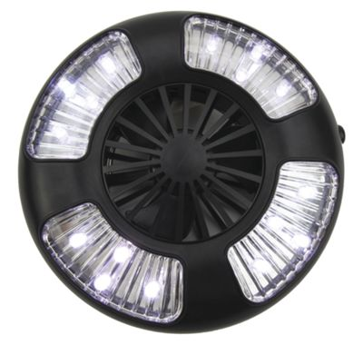 Clam Fan/LED Light Combo - Small by