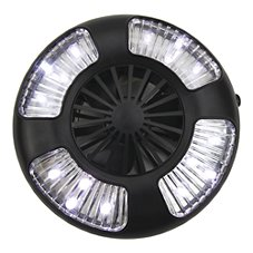 Clam Fan/LED Light Combo - Small