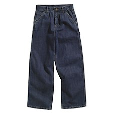 Carhartt Washed Denim Dungaree Pants for Boys