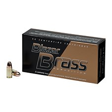 Blazer Brass 9mm Handgun Ammo