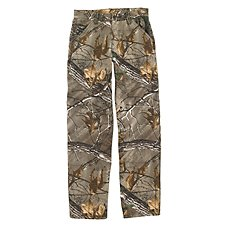 Carhartt Washed Work Realtree Xtra Camo Dungarees for Boys