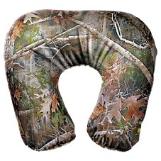 Ridge Hunter Neck Travel Pillow - Realtree Xtra Green