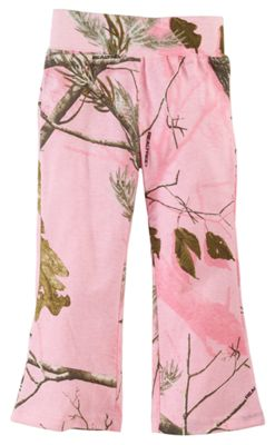 Bass Pro Shops Realtree APC Pink Camo Yoga Pants for Babies or Toddler Girls - 9 Months thumbnail