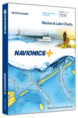 Navionics+ Electronic Marine Charts and Freshest Data