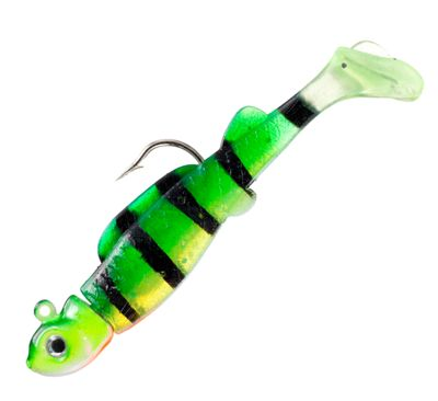 Bass Pro Shops Crappie Maxx Paddle Tail Minnow 1 12 Bluegill 132 oz