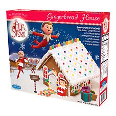 The Elf on the Shelf An Elf's Story Pre-Baked Gingerbread House Kit