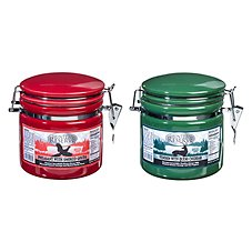 Hunters Reserve Wild Game Cheese Crock 2-Pack - Pheasant/Smoked Gouda and Venison/Queso