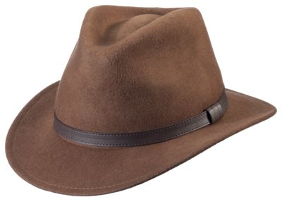 9b2659a6 ... With its rugged wool felt construction, the RedHead Outback Felt Hat  keeps youooking sharp as you seek adventure. This waterrepellent men's hat  features ...