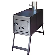 Kni-Co Tundra Take Down Wood Camp Stove