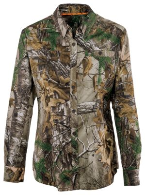 SHE Outdoor Element Long-Sleeve Shirt for Ladies – Realtree Xtra – XS