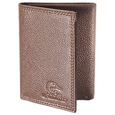 Bass Pro Shops Ducks Unlimited Leather Trifold Wallet