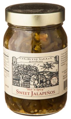 Cherith Valley Gardens ''Hot 'n Spicy'' Sweet Jalapenos