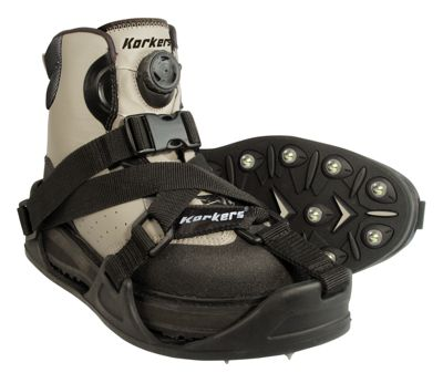 Korkers CastTrax Cleated Fishing Overshoe by