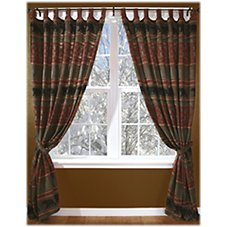 Bear Country Collection Tab Drapes